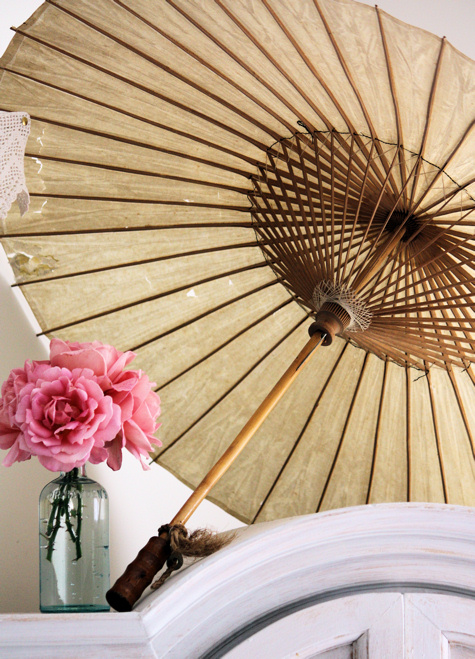 Parasol and Roses