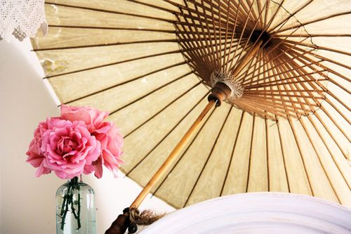 Parasol and Roses 2