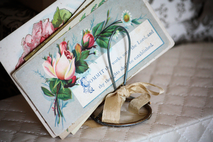 Victorian Rose Cards