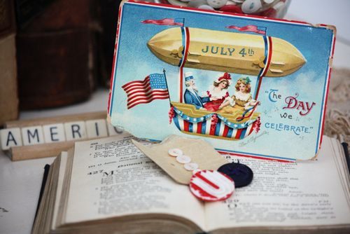 4th of July Vignette