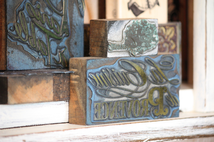 French Letterpress Blocks