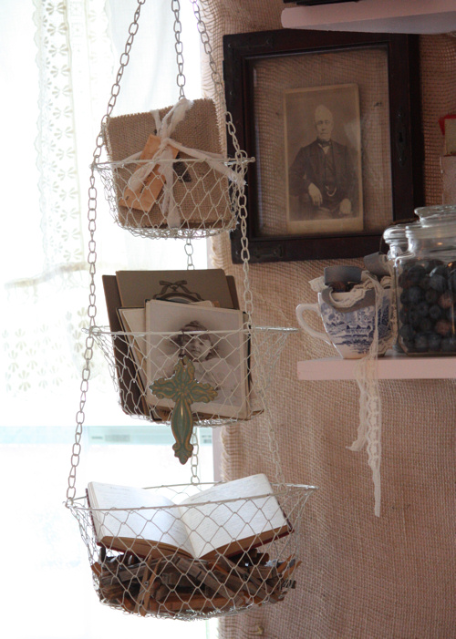 Hanging Studio Basket