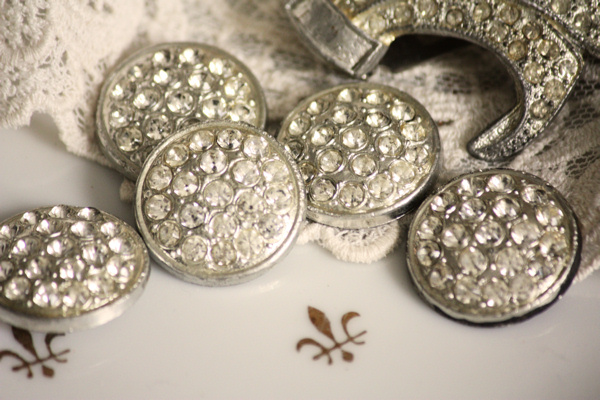 Rhinestone Buttons 2