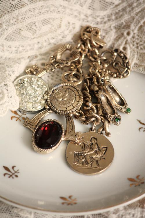 Gold Charm Bracelet