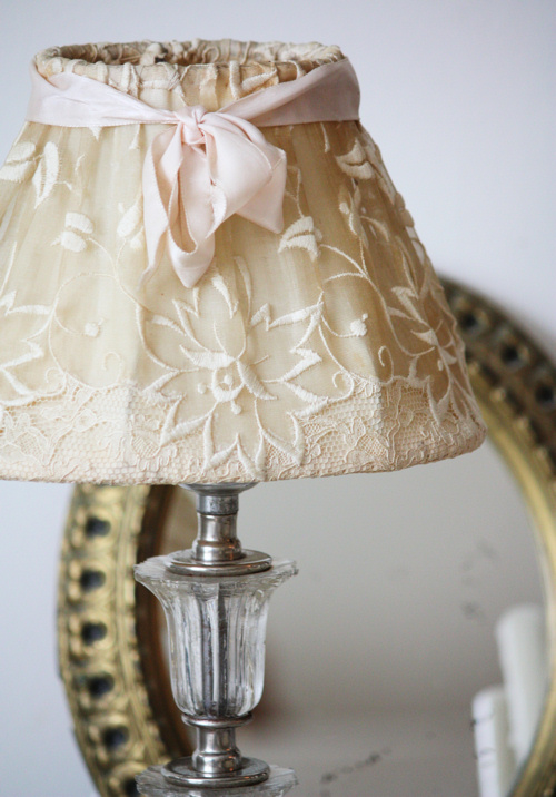 Vintage Glass Lamp 2