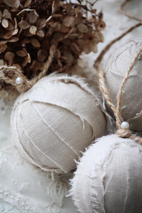 Linen Rag Balls