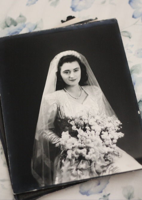 Grandmother's Wedding Day