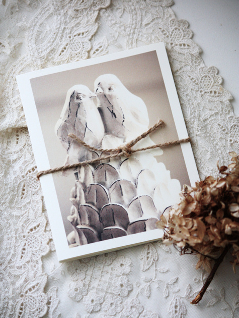 Lovebirds Notecards