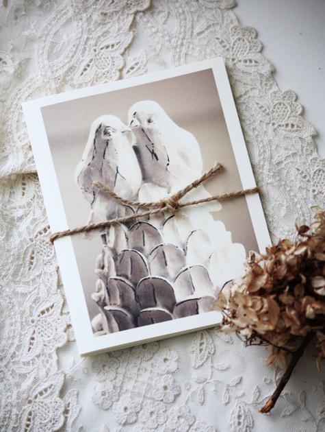 Lovebirds Notecards