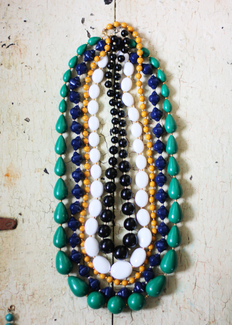 Vintage Beaded Necklaces