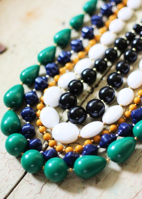 Vintage Beaded Necklaces 2
