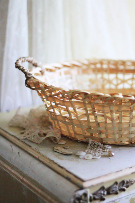 Au Naturel Farmhouse Basket
