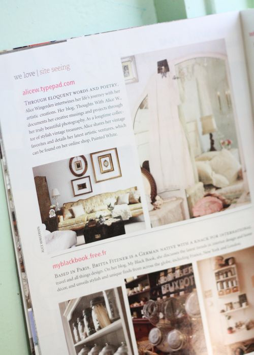 Romantic Homes Blog Feature