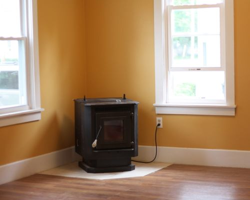 Family Room Stove