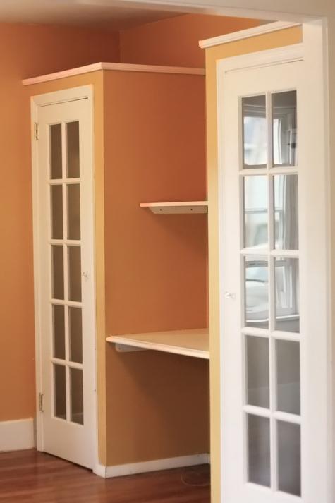 Family Room Closets