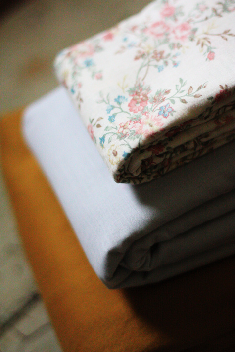 Vintage Fabric Stack 3
