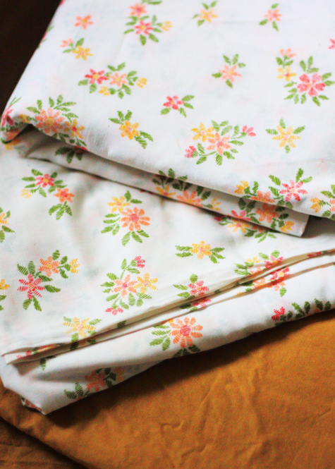 Colorful Vintage Fabric