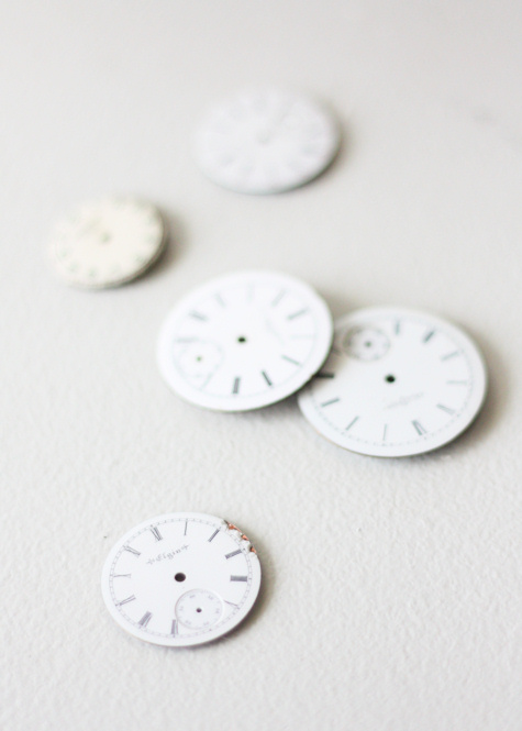 White Pocket Watch Faces