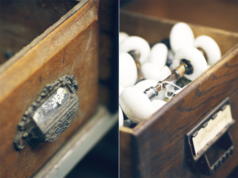 Antique Drawers and Hardware
