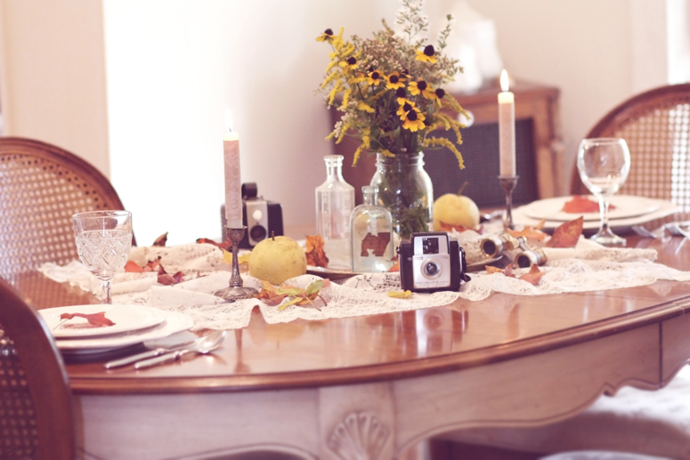 Fall Table Setting 7