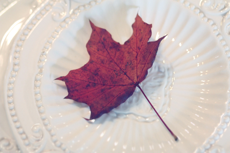 Fall Table Setting 5