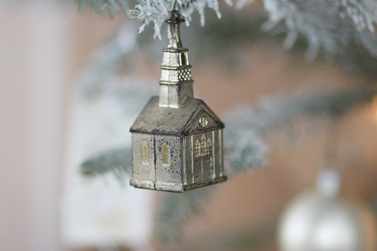 Old Church Ornament