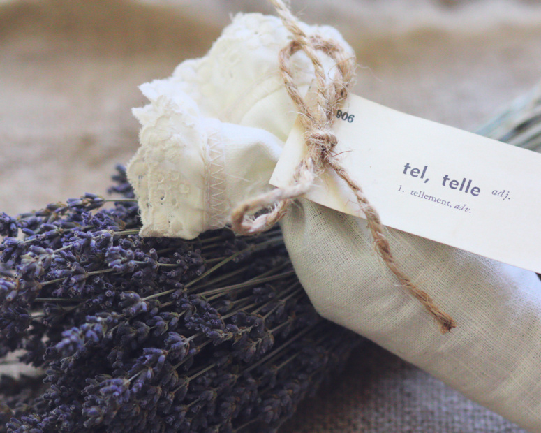 Lavender Sachet by Alice W.