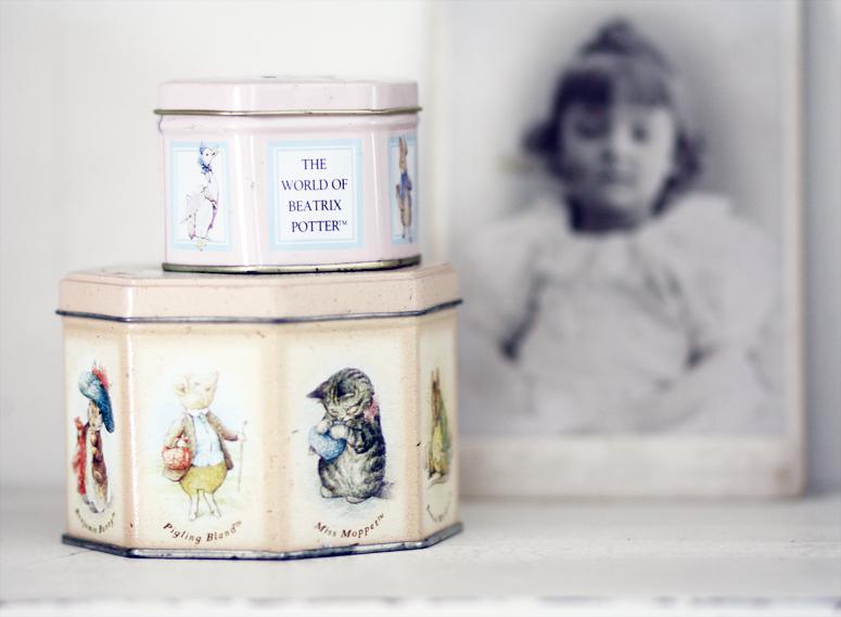 Beatrix Potter Tins
