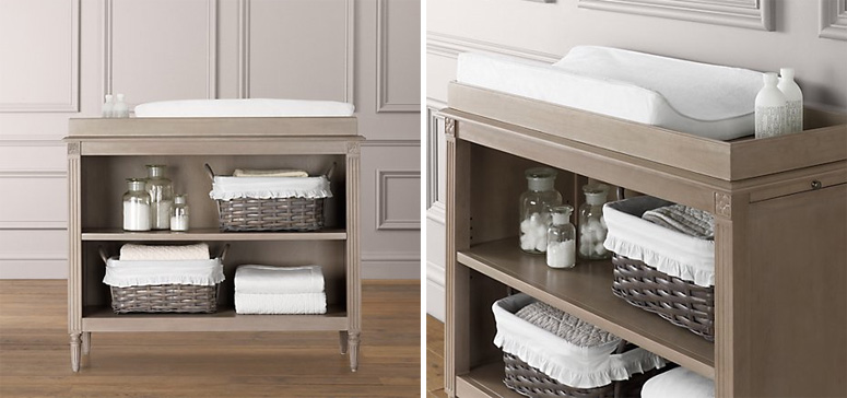 RH Changing Table