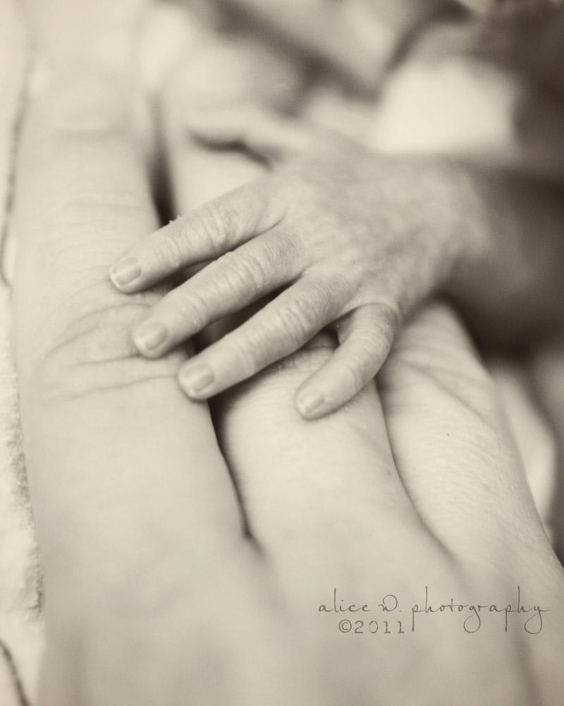 Tiny Baby Hand