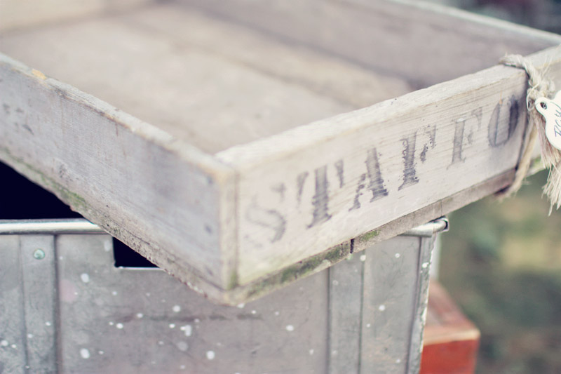 Rustic Storage Containers