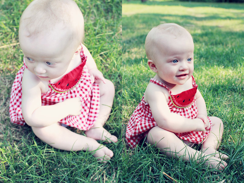 Baby Girl Watermelon Dress