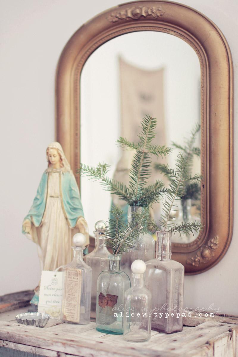 Religious Christmas Vignette