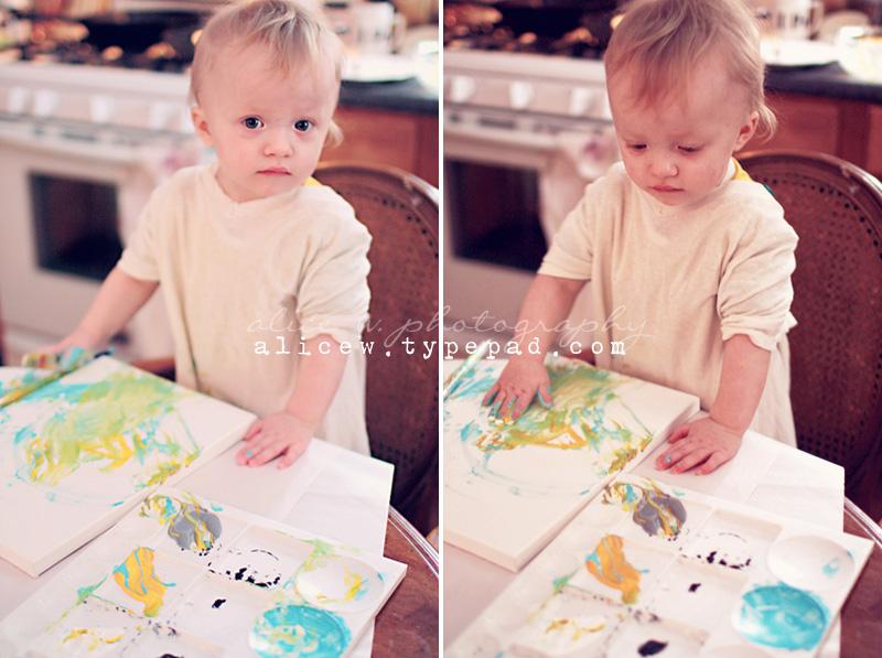 Toddler Artist